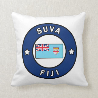 Suva Fiji Throw Pillow
