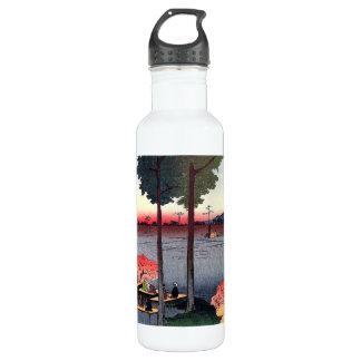 Suwa Bluff in Nippori (日暮里諏訪の台) Water Bottle