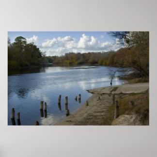 Suwannee River, old Wannee Boat Ramp Print