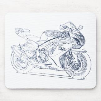 Suz GSXR600-750 2011 Mousepad