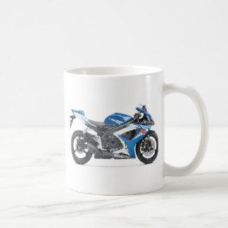Suz GSXR600 K6 cracked Coffee Mug