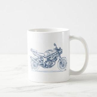 Suz SV650 1st gen 1998-02 Classic White Coffee Mug