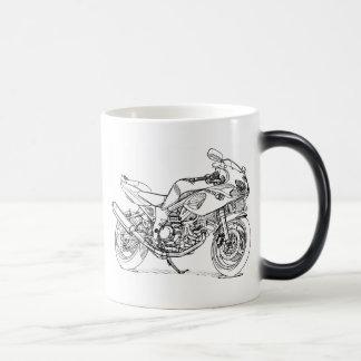 Suz SV650S 1st gen 11 Oz Magic Heat Color-Changing Coffee Mug