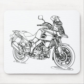 Suz VStrom 1000 2014 Mouse Pad