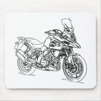 Suz VStrom 1000 2018 Mouse Pad