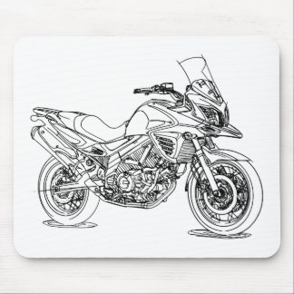 Suz VStrom 650X 2015 Mouse Pad