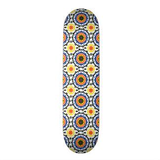 Suzani Pattern Skateboard Deck