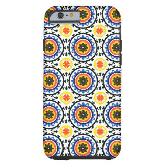 Suzani Pattern Tough iPhone 6 Case