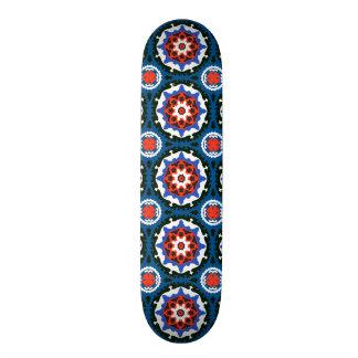 Suzani Pattern With Bold Ornament Skateboard Deck