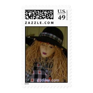 Suzanna Scarecrow Lifesize Doll Stamp audile.com