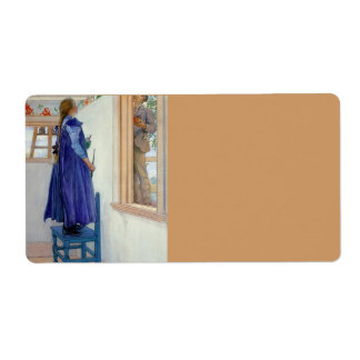 Suzanne Decorative Painting on Wall Label