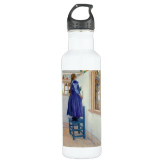 Suzanne Decorative Painting on Wall Water Bottle