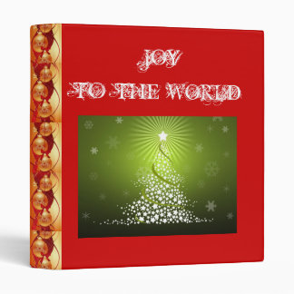 SUZANNE ELIZABETH CHRISTMAS COLLECTION 3 RING BINDER