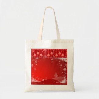 SUZANNE ELIZABETH CHRISTMAS COLLECTION BUDGET TOTE BAG