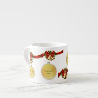 Suzanne Elizabeth Christmas Collection Espresso Cup
