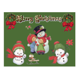 SUZANNE ELIZABETH CHRISTMAS COLLECTION POSTCARD