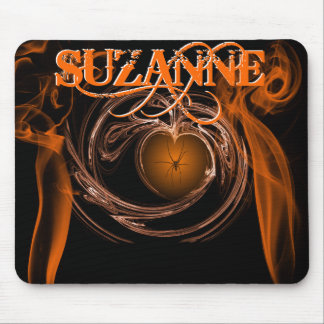 SUZANNE HEART MOUSE PAD