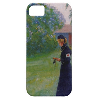 Suzanne in Red Cross Uniform iPhone 5 Cover