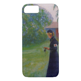 Suzanne in Red Cross Uniform iPhone 7 Case