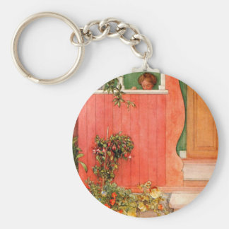 Suzanne on the Porch Keychain