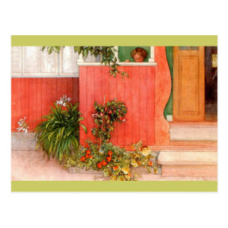 Suzanne on the Porch Postcard