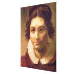 Suzanne or Portrait presumed Canvas Print