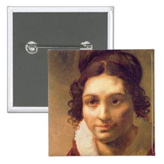 Suzanne or Portrait presumed Pinback Button