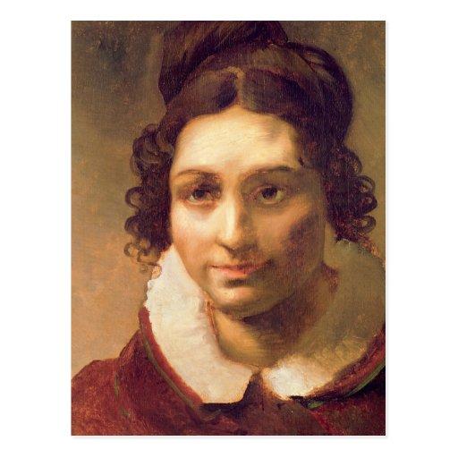 Suzanne or Portrait presumed Postcard