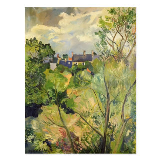 Suzanne Valadon- View from My Window in Genets Postcard