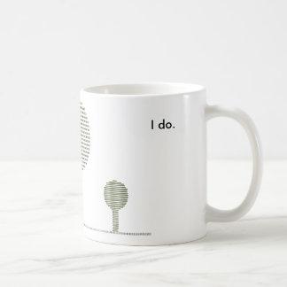 Suzeco Do you care? Classic White Coffee Mug