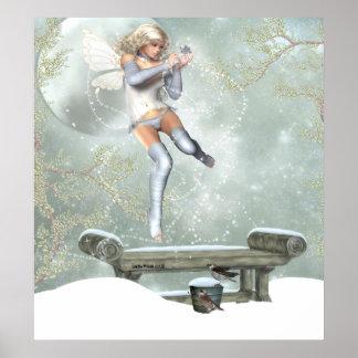 Suzee SnowFlake Making Magic Posters