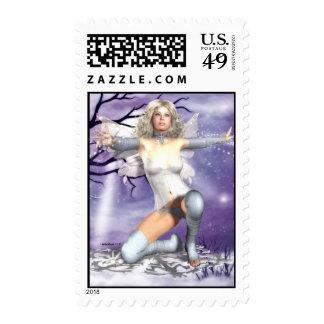 Suzee SnowFlake Spreading Joy Around Stamps
