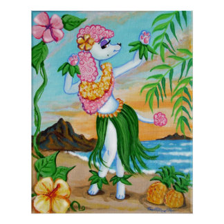 Suzette Loves the Islands Poster