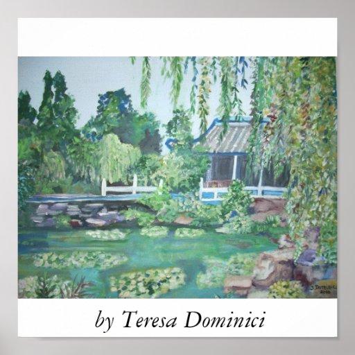 Suzhou Gardens, Poster
