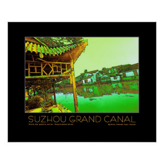 Suzhou Grand Canal poster