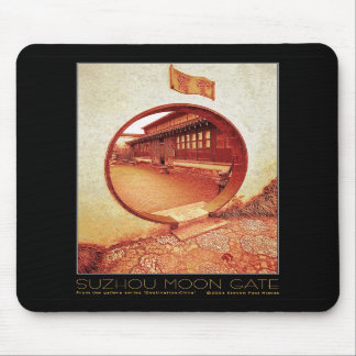 Suzhou Moon Gate mouse pad