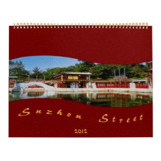Suzhou Street Calendar