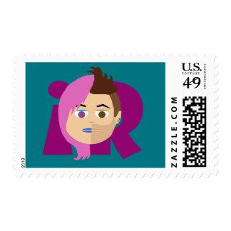 Suzi and Jay iRandomnessnation Stamps