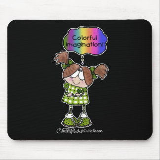 Suzie Anna's Colorful Imagination Mouse Pad
