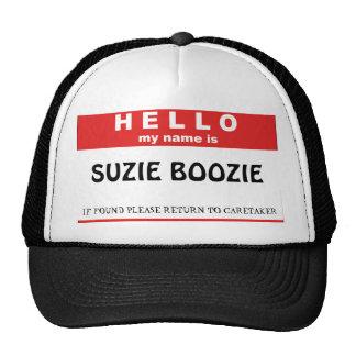 SUZIE BOOZIE TRUCKER HAT