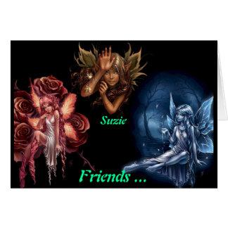 Suzie! - Friendship Greeting Card