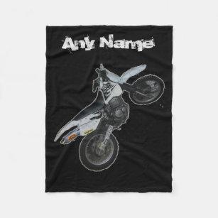 Dirt Bike Blankets Amp Throws Zazzle