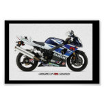 Suzuki GSX-R1000 Poster