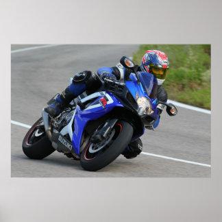 Suzuki gsxr600 poster