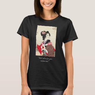 Suzuki Kason Sakura japanese woman lady art T-Shirt