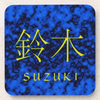 Suzuki Monogram Beverage Coaster