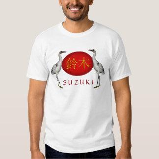 Suzuki Monogram Crane T Shirt