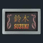 """Suzuki Monogram Snake Belt Buckle<br><div class=""""desc"""">Suzuki Monogram Snake</div>"""