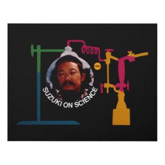 Suzuki on Science - promo graphic Panel Wall Art