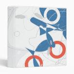 Suzukigo Too Abstract Art Binder